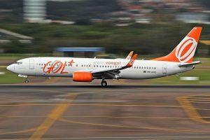 Boeing 737-800 společnosti Gol. Foto: Rafael Luiz Canossa [CC BY-SA 2.0 (https://creativecommons.org/licenses/by-sa/2.0)]