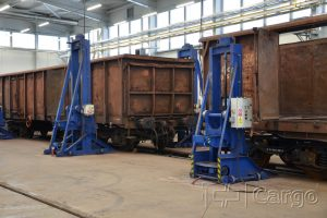 Nová hala ČD Cargo v Ústí n.L. Pramen: ČD Cargo