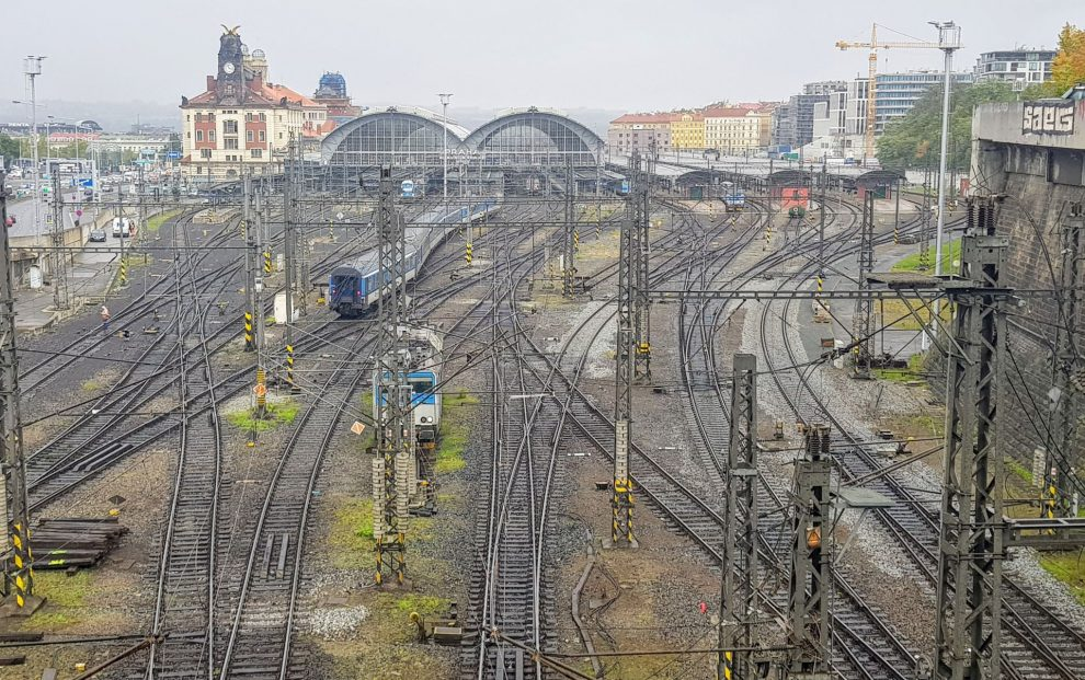 Praha hlavní nádraží. Foto: Jan Sůra