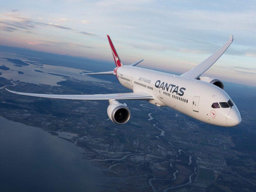 Boeing 787-9 Dreamliner. Foto: Qantas