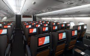 Třída Premium economy po modernizaci v A380 společnosti Qantas. Foto: Qantas