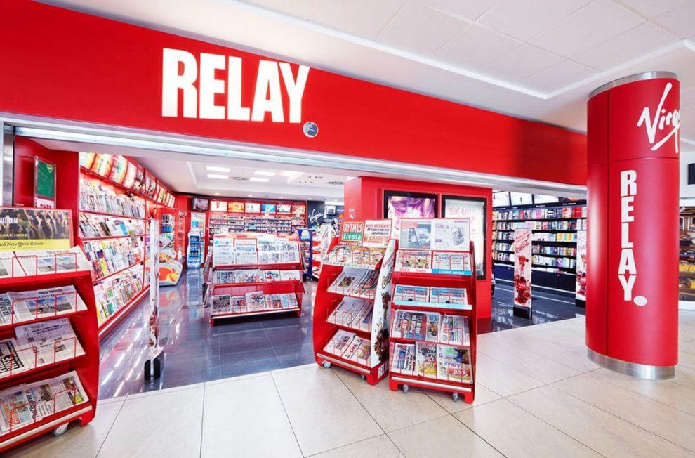 Prodejna Relay na letišti. Foto: Relay