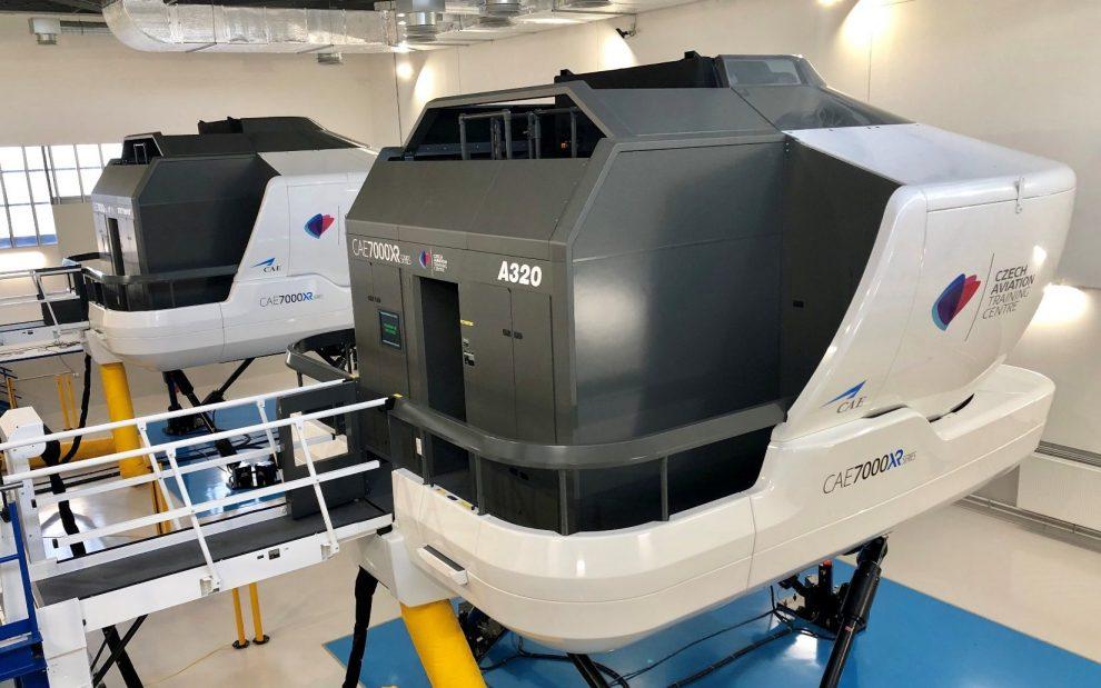 Nové simulátory na A320 a B737 MAX. Foto: CATC