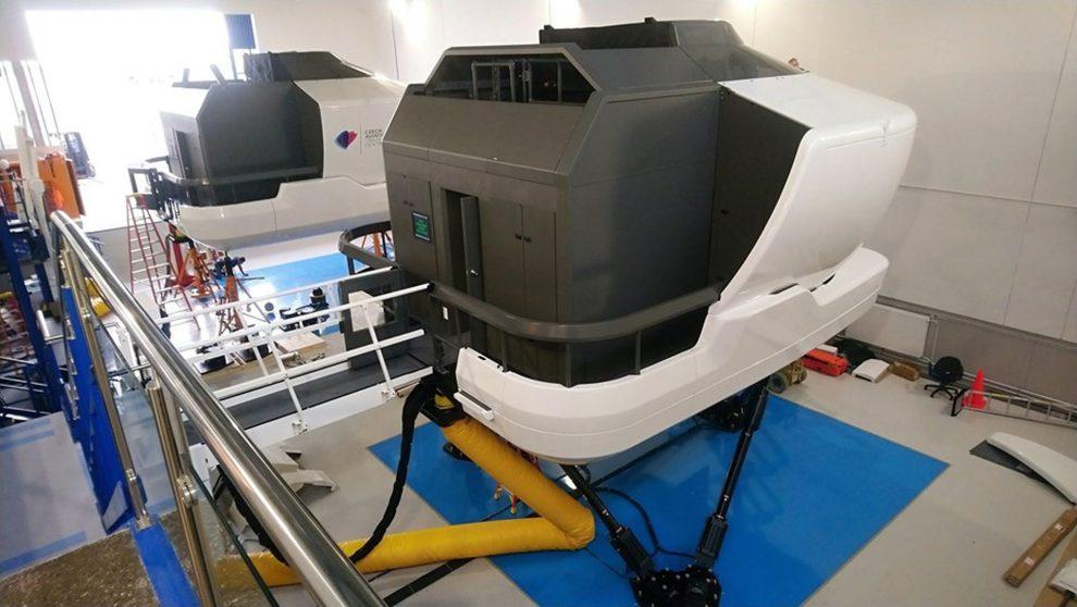 Nové simulátory v CATC. Foto: CATC