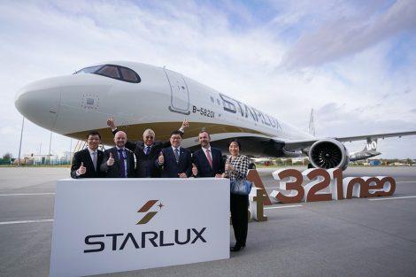Předání A321neo pro StarLux Airlines. Foto: Starlux