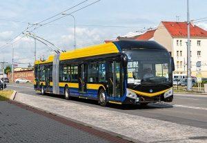 Trolejbus 33 Tr. Foto: Honza Tran