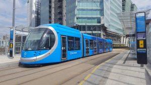 Tramvaj Urbos pro Birmingham. Foto: CAF