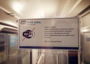 Informace pro cestující ve voze ČD