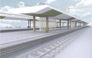 Nová podoba stanice Zahradní Město. Foto: SŽDC