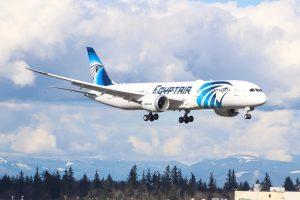 Boeing 787-9 v barvách Egypt Air. Foto: Egypt Air