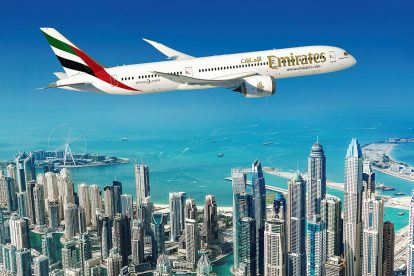 Boeing 787-9 pro Emirates. Foto: Boeing