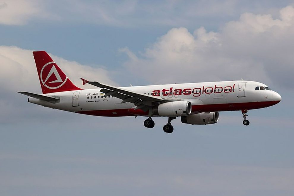 A320 společnosti Atlas Global. Foto: Bene Riobó [CC BY-SA 4.0 (https://creativecommons.org/licenses/by-sa/4.0)]