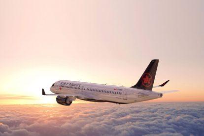 A220 -300 v barvách Air Canada. Foto: Air Canada