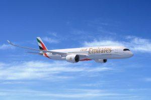 A350-900 v barvách Emirates. Foto: Airbus