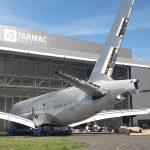A380 pro rozebrání. Foto: Tarmac Aerosave