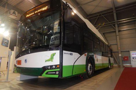 Trolejbus Škoda s karosérií Solaris. Autor: Zdopravy.cz/Jan Šindelář