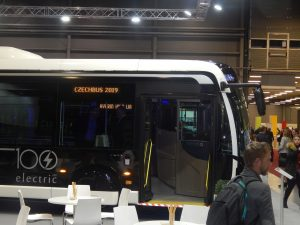 Expozice Iveco Bus na veletrhu Czechbus 2019. Pramen: Iveco