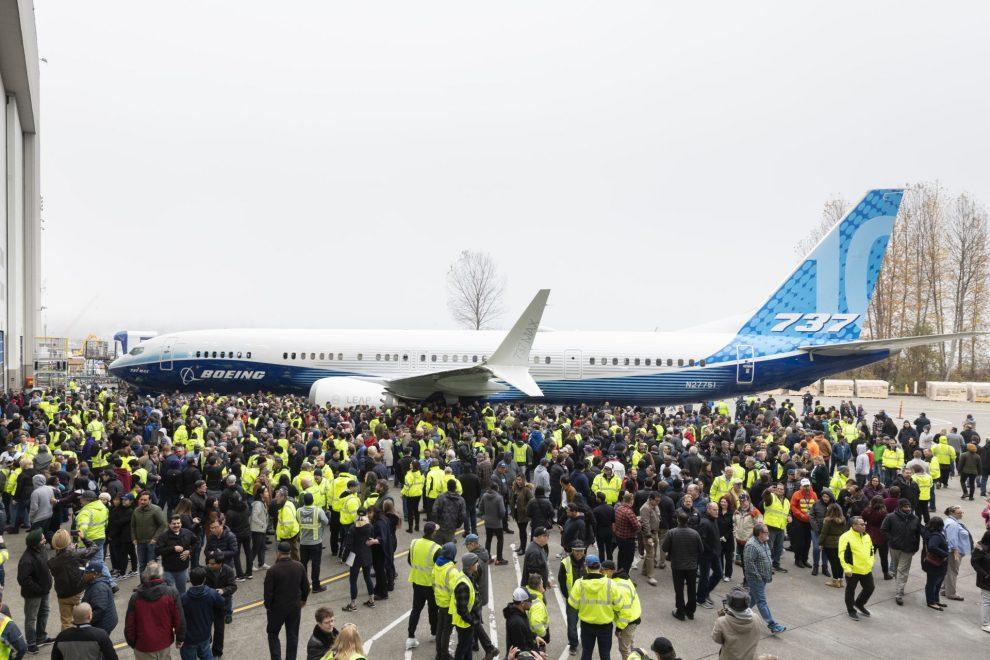 Premiéra Boeingu 737 MAX 10. Foto: Boeing