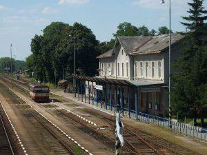 Nádraží Hrušovany nad Jevišovkou. Autor: https://commons.wikimedia.org/wiki/User:My_Friend