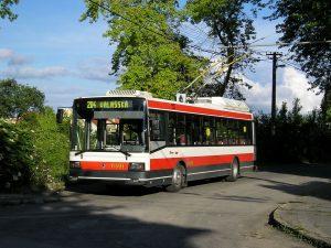 Trolejbus Škoda 21Tr. Foto: DPB