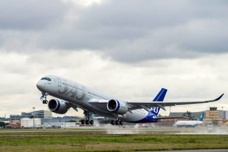 A350-900 v barvách SAS. Foto: SAS