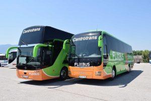 Autobusy Centrotransu. Foto: FlixBus