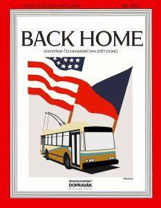 Kampaň pro návrat trolejbusu z USA do Česka