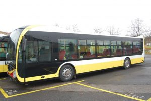 Autobus SOR NS12. Foto: Dopravní podnik měst Mostu a Litvínova