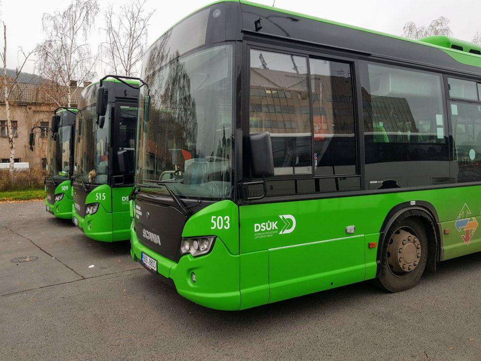 Nové autobusy Scania pro DSÚK. Foto: Jan Sůra