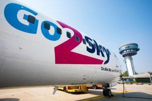 Boeing 737 v barvách Go2Sky. Foto: Go2Sky