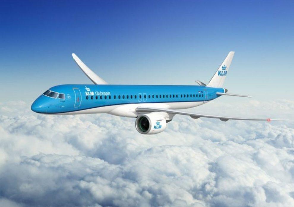 Embraer E195-E2 v barvách KLM. Foto: Embraer