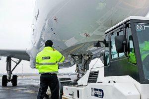 Odbavení letadel. Foto: Menzies