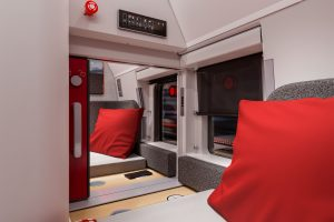 Nová generace ubytovacích vozů NightJet. Foto: ÖBB