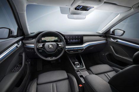 Interiér nové Škody Octavia. Foto: Škoda Auto