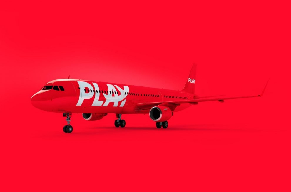 Vizualizace A321 v barvách islandské aerolinky Play. Foto: www.flyplay.com