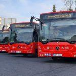 Autobusy Mercedes pro příbramskou MHD. Pramen: Arriva