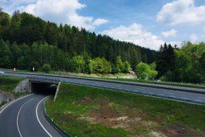 Křižovatka silnic I/35 a I/65 Rádelský mlýn. Foto: Liberecký kraj