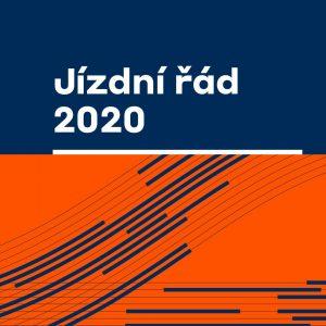 Obálka jízdního řádu 2019/20: Foto: SŽDC