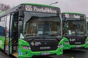 Nové autobusy Scania Citywide pro Dopravní společnost Ústeckého kraje. Foto: Doprava Ústeckého kraje
