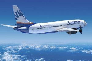 Boeing 737 MAX8 v barvách Sun Express. Foto: Boeing