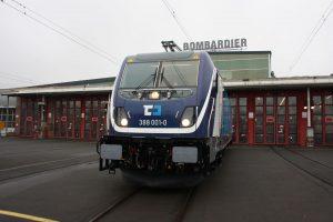 Bombardier TRAXX MS3 v barvách ČD Cargo. Foto: ČDC