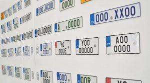 Registrační značky. Foto: Ministerstvo dopravy