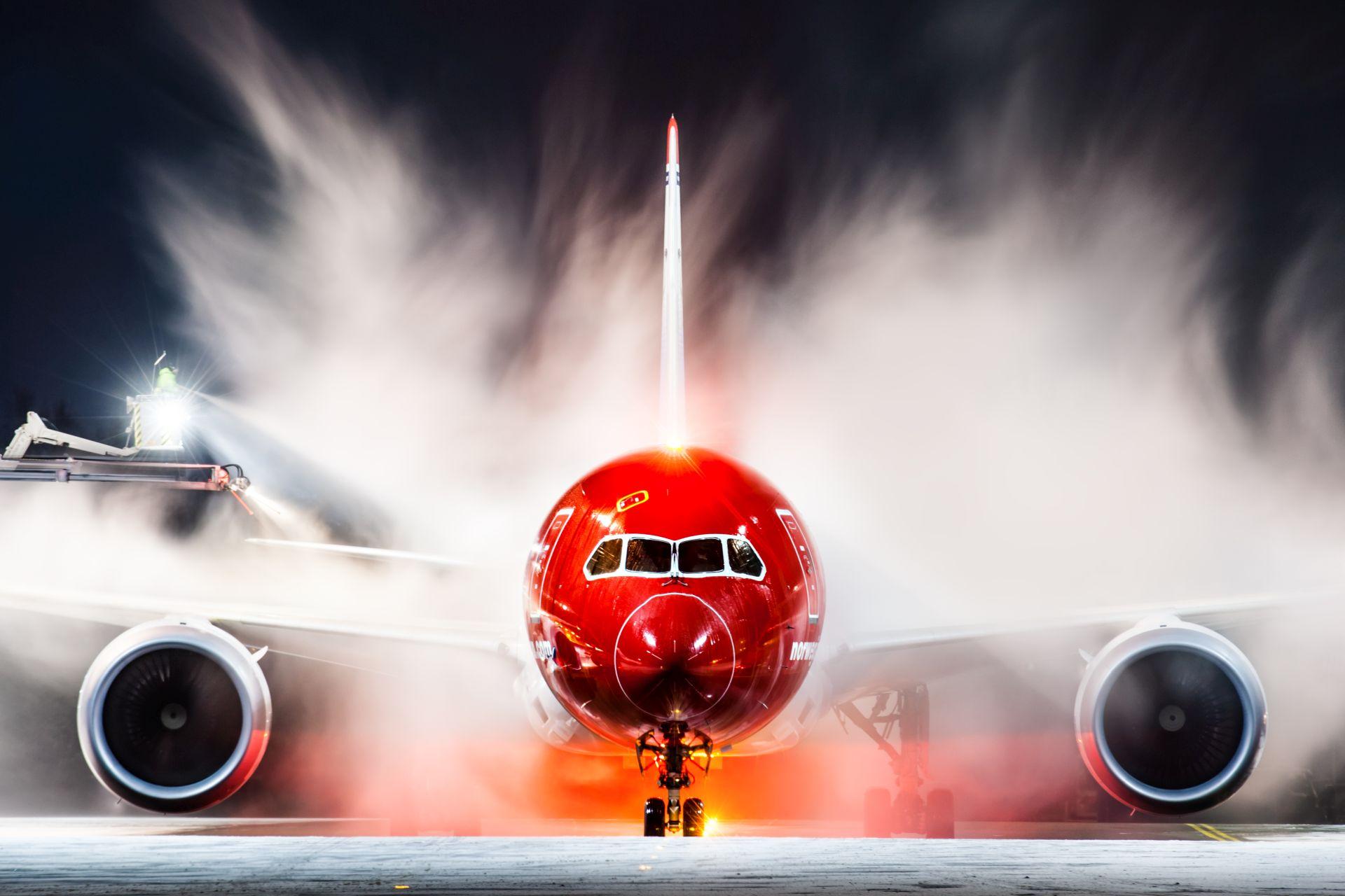 Boeing 787 společnosti Norwegian Air Shuttle. Foto: Jørgen Syversen