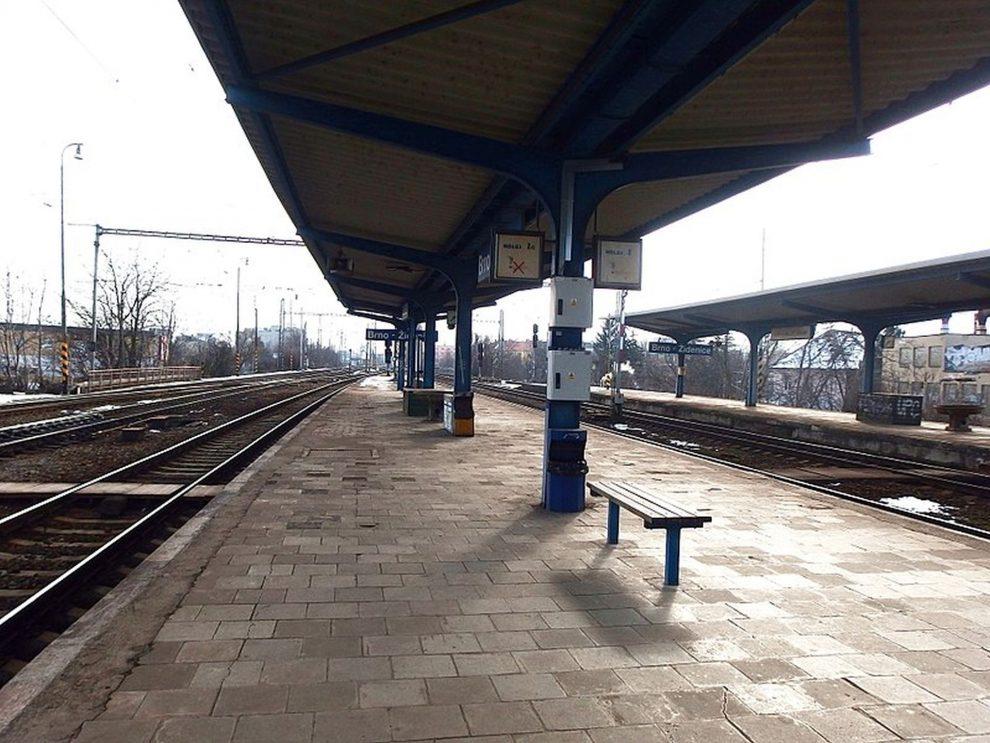 Stanice Brno-Židenice. Foto: palickap/Wikimedia Commons