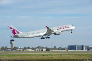 Airbus A350-900 v barvách Qatar Airways. Foto: Airbus