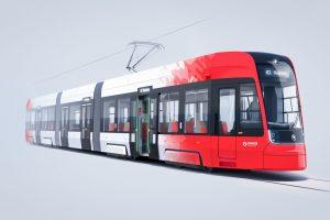 Vizualizace nové tramvaje ForCity Smart pro Bonn. Foto: Škoda Transportation