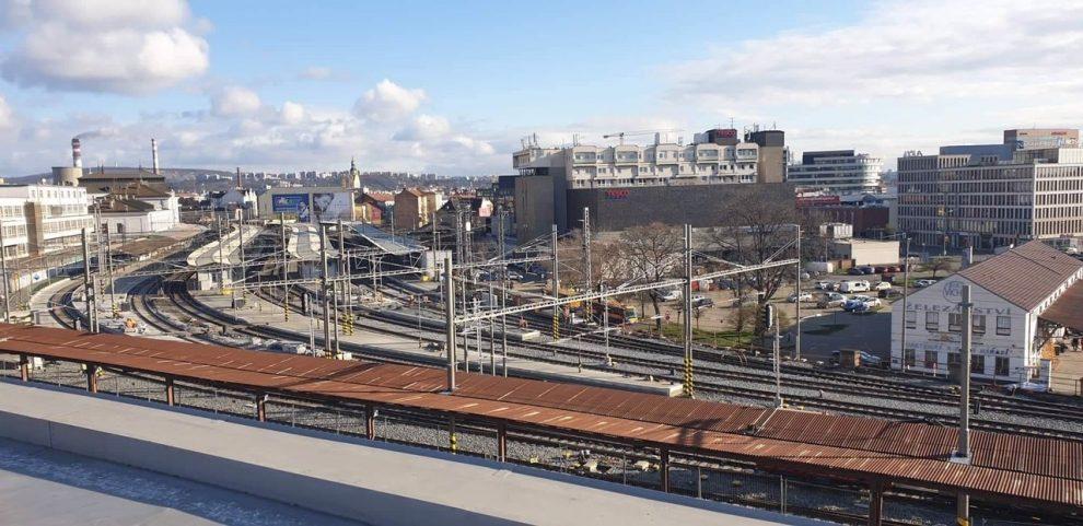 Brno, hlavní nádraží. Pramen: SŽDC