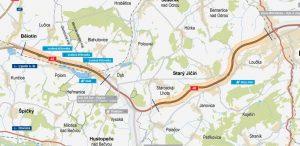 Trasa D48 Bělotín - Rybí. Foto: ŘSD