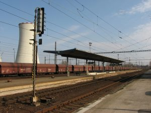 Stanice Dětmarovice. Foto: Mariuszjbie – Vlastní dílo, CC BY-SA 3.0, https://commons.wikimedia.org/w/index.php?curid=19179604
