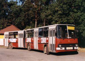 Ikarus 280, první bus ve sbírce Milana Jiroše. Pramen: Archiv Milana Jiroše